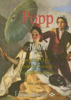 Album – Flöte Klavier - Wilhelm Popp - Partition - laflutedepan.com