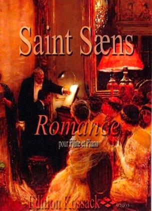 Romance Op. 37 SAINT-SAËNS Partition Flûte traversière - laflutedepan