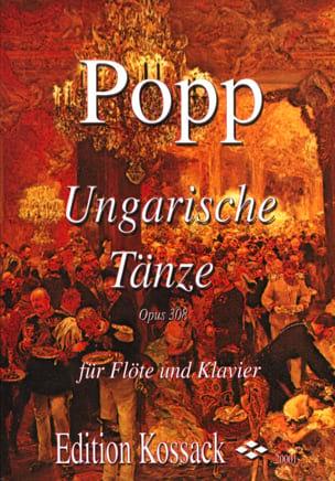 Wilhelm Popp - Ungarische Tänze op. 308 - Partition - di-arezzo.fr