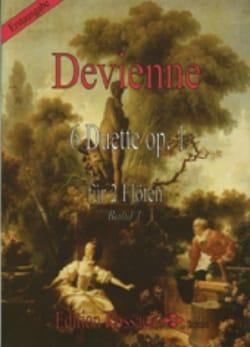 François Devienne - 6 Duette op. 1 - Bd. 1 – 2 Flöten - Partition - di-arezzo.fr