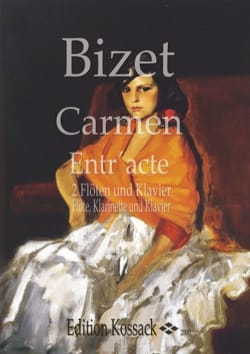 BIZET - Carmen Entr'acte - 2 Flöten Klavier Fl. Klar. Kl. - Sheet Music - di-arezzo.com