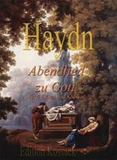 Abendlied zu Gott -4 Flöten & klavier HAYDN Partition laflutedepan