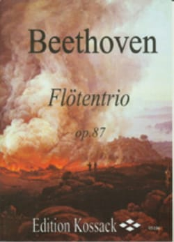 Flötentrio Op. 87 - BEETHOVEN - Partition - laflutedepan.com