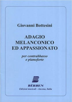Giovanni Bottesini - Adagio melancolico ed appassionato - Sheet Music - di-arezzo.co.uk