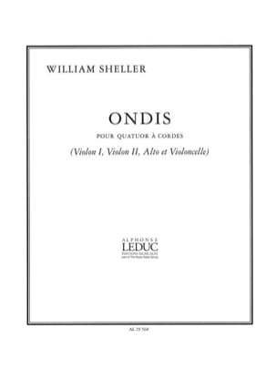 William Sheller - Ondis - Driver Parties - Sheet Music - di-arezzo.com