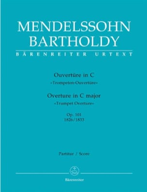 MENDELSSOHN - Open in C op. 101 - Partitur - Sheet Music - di-arezzo.com