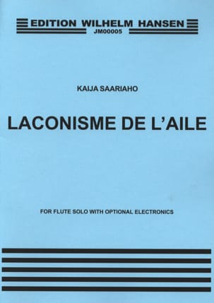Kaija Saariaho - Laconism of the Wing - Sheet Music - di-arezzo.com