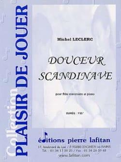 Douceur scandinave - Michel Leclerc - Partition - laflutedepan.com