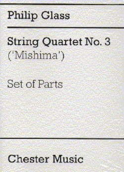 String Quartet n° 3 - Parts GLASS Partition Quatuors - laflutedepan