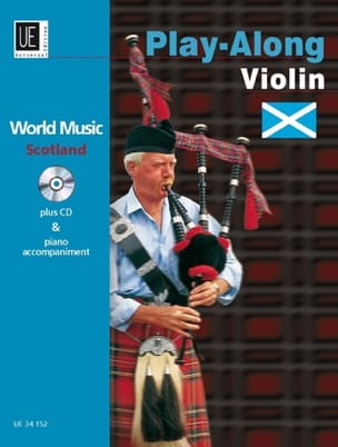 Play-Along Scotland - Violon / Piano - James Rae - laflutedepan.com
