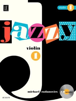 Jazzy Violon 1 Michael Radanovics Partition Violon - laflutedepan