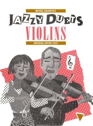 Michael Radanovics - Jazzy Duets Violins with CD - Sheet Music - di-arezzo.co.uk