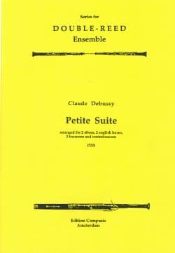 DEBUSSY - Petite Suite -2 ob, 2 engl. horns, 2 bn, contrabn - Score + parts - Partition - di-arezzo.fr