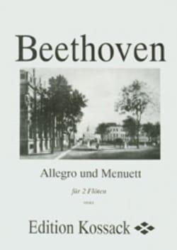 Allegro und Menuett - 2 Flöten - BEETHOVEN - laflutedepan.com