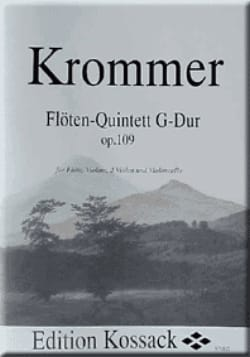 Franz Krommer - Flötenquintett G-Dur op. 109 - Partitur Stimmen - Sheet Music - di-arezzo.co.uk