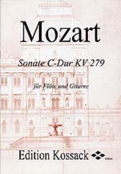 MOZART - Sonate C-Dur KV 279 – Flöte Gitarre - Partition - di-arezzo.fr