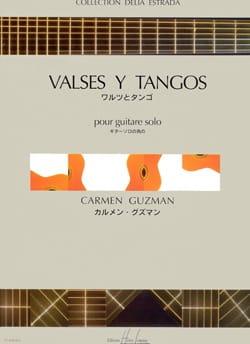 Valses Y Tangos - Carmen Guzman - Partition - laflutedepan.com