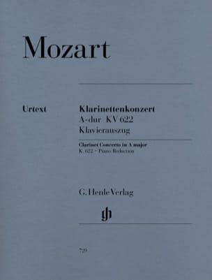 MOZART - Concierto para clarinete A Major KV 622 - Partitura - di-arezzo.es
