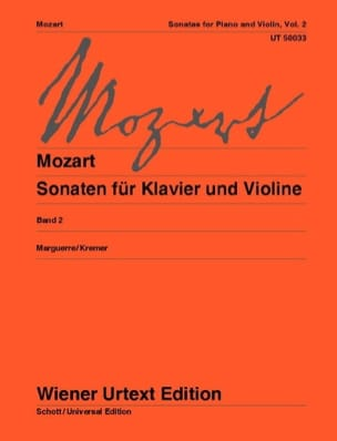 MOZART - Sonaten for Klavier u. Violine, Bd. 2 - Sheet Music - di-arezzo.co.uk