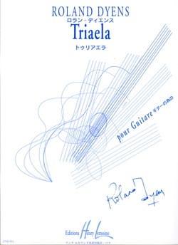 Roland Dyens - Triaela - Partition - di-arezzo.fr