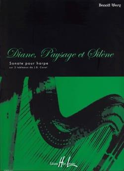 Diane, Paysage et Silène Benoît Wery Partition Harpe - laflutedepan