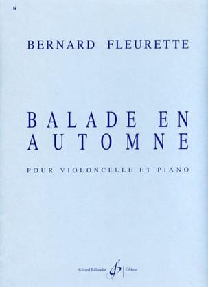 Bernard Fleurette - Balade en automne - Partition - di-arezzo.fr