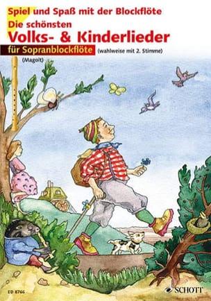 Magolt Hans / Magolt Marianne - Die Schönsten Volks & Kinderlieder ohne CD - Partition - di-arezzo.fr