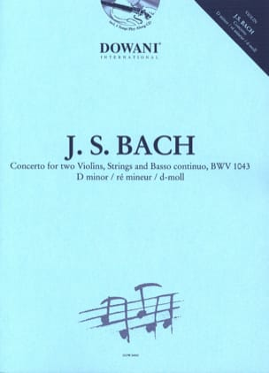 BACH - Concerto 2 Violins in D minor, BWV 1043 - Sheet Music - di-arezzo.co.uk
