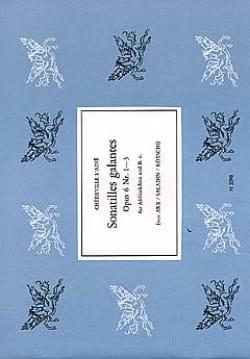 Philippe Esprit (L'Aîné) Chédeville - Sonatilles Galantes Op 6 N° 1 A 3 - Partition - di-arezzo.fr