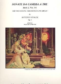 Sonata da Camera a Tre Op. 1 - Book 1 : N° 1-6 - laflutedepan.com
