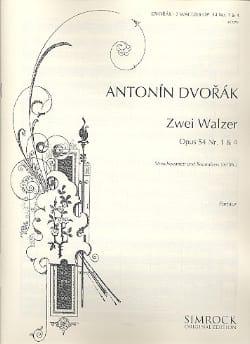 DVORAK - 2 Walzer op. 54 Nr. 1 und 4 - Streichquartett - Partitur - Sheet Music - di-arezzo.co.uk