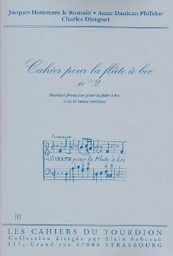 - Cahier N ° 2 French Suites - Sheet Music - di-arezzo.co.uk