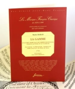 Marin Marais - The range and other pieces of Simphonie - Fac simile - Sheet Music - di-arezzo.co.uk