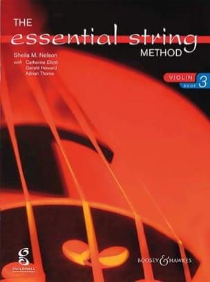 Sheila M. Nelson - Essential string method, Volume 3 – Violin - Partition - di-arezzo.fr