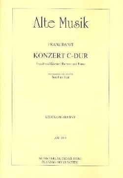 Konzert in C-Dur -Fagott Klavier - Franz Danzi - laflutedepan.com
