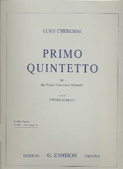 Luigi Cherubini - Primo Quintetto –Parti separate - Partition - di-arezzo.fr