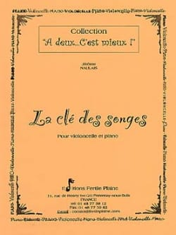 Jérôme Naulais - The key to dreams - Sheet Music - di-arezzo.com