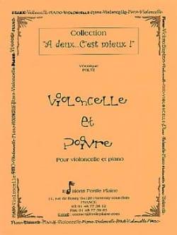 Violoncelle et poivre Véronique Poltz Partition laflutedepan