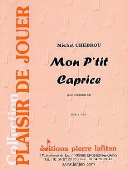 Mon p'tit caprice - Michel Chebrou - Partition - laflutedepan.com