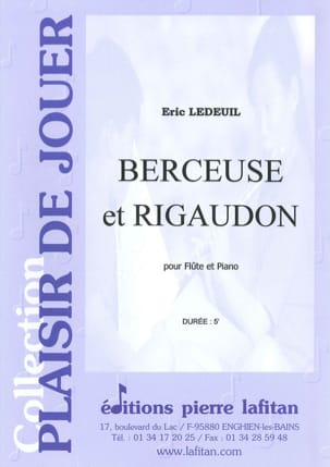 Eric Ledeuil - Lullaby and Rigaudon - Sheet Music - di-arezzo.com