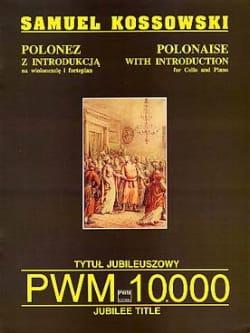 Polonaise Samuel Kossowski Partition Violoncelle - laflutedepan