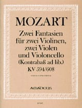 MOZART - 2 Fantasy KV 594 and KV 608 - Partitur Stimmen - Sheet Music - di-arezzo.co.uk