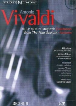 L'automne, Op. 8 N° 3 Rv 293 - VIVALDI - Partition - laflutedepan.com