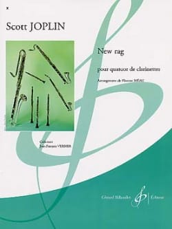 Scott Joplin - New Rag – Quatuor clarinettes - Partition - di-arezzo.fr