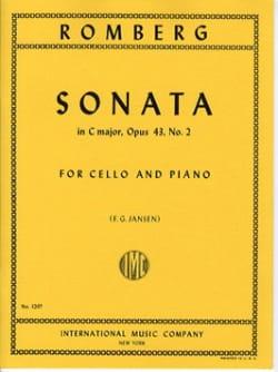 Sonate en ut majeur op. 43 n° 2 - Bernhard Romberg - laflutedepan.com