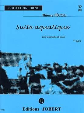 Suite aquatique Thierry Pécou Partition Violoncelle - laflutedepan