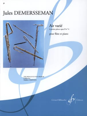 Jules Demerssemann - Air varied - Sheet Music - di-arezzo.com