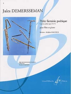 Jules Demerssemann - Little poetic fantasy op. 2 n ° 6 - Sheet Music - di-arezzo.co.uk
