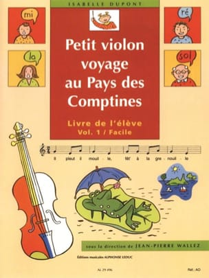 Isabelle Dupont - Small Violin in the Country of the Rhymes Volume 1 - Sheet Music - di-arezzo.com