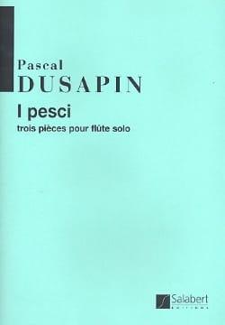 Pascal Dusapin - Yo pesci - Partitura - di-arezzo.es